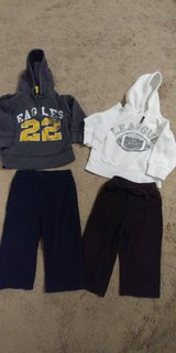 24 month sweat shirts ans pants in Fort Leonard Wood, Missouri