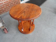 PINE 2 TIER END TABLE - SOLID WOOD in Cherry Point, North Carolina