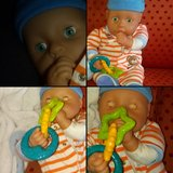 doll with one outfit in a pacifier in Belleville, Illinois