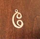 'C' Pendant/Charm in Sugar Grove, Illinois