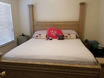 NEW LOW PRICE!-Ashley Furniture King Size Bed W/ Rails/Headboard/Footboard in Kissimmee, Florida
