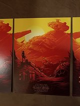 Star Wars: The Force Awakens Collectible Posters in Okinawa, Japan
