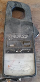 REDUCED Vintage Micronta Clamp on meter in 29 Palms, California