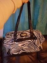 zebra suitcase in Fort Campbell, Kentucky