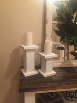 Set of candle holders in DeRidder, Louisiana