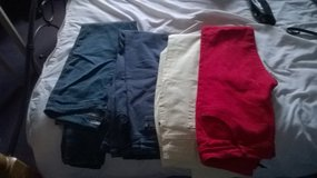 4 pairs womens skinny jeans, size 12/14 in Lakenheath, UK