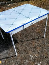 vintage enamel top table in Camp Lejeune, North Carolina
