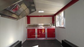 8' X 18' Concession Trailer - H2O - Vent Hood - LOADED in Fort Campbell, Kentucky