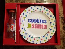 Brand New! Santa Plate Set in Fort Campbell, Kentucky