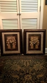 SET OF 2 DECORATIVE WALL PICTURES in Keesler AFB, Mississippi
