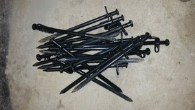 Heavy Duty High Strength Steel Camping Tent Stakes (20) in Fort Leonard Wood, Missouri