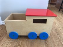 Kidcraft Train Storage Unit and Bench in Plainfield, Illinois