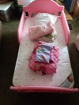 toddler bed plus bedding and mattress in Fort Leonard Wood, Missouri