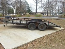 16 foot dual akle trailer in DeRidder, Louisiana