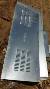 Spacesaver Water Heater Enclosure/Cover-Galvanized Steel Metal-Used in 29 Palms, California
