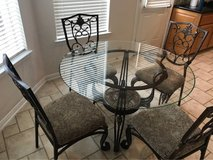 Breakfast Table with Four Chairs in Pearland, Texas