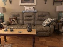 Electric reclining sofa and recliner in Fort Knox, Kentucky