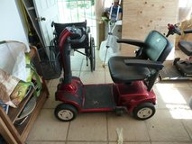 2017 Red - Golden Companion Electric Powered Mobility Chair/Cart & Tri Lift Mobility Carrier/Lift in Yucca Valley, California