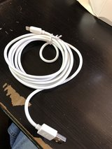 Apple lighting charger cable white in Fort Campbell, Kentucky