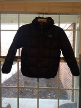 North Face Reversible Kids Down Coat, size Large 14/16 in Indianapolis, Indiana