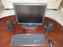 Monitor, Keyboard, Mouse and Speakers for computers (PC) in Batavia, Illinois