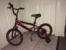 "Brand New 16"" Kent Schism Red Bike with training wheels in Indianapolis, Indiana"