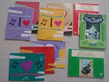 Piano lesson books for kids and music students in Sugar Grove, Illinois