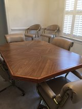 Dining Room Table and Matching Barstools in Wilmington, North Carolina
