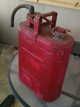 Antique Gas Can in 29 Palms, California
