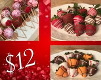 Valentines Day Chocolate Covered Strawberries and Pops in Oceanside, California