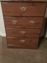 wooden dresser with four drawers in Spring, Texas