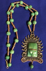 Mexican jade necklace in Travis AFB, California
