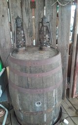 OLD WHISKEY  BARRELS REDUCED in Leesville, Louisiana