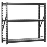 edsal 72-in H x 77-in W x 24-in D Steel Freestanding Shelving Unit in Hemet, California