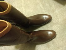 Brown boots miltary Wellington size 9 in Camp Pendleton, California