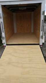 NEW - 5' X 8' Enclosed Trailer w/rear ramp door in Fort Knox, Kentucky