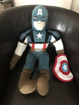 Large Stuffed Captain America in Sugar Grove, Illinois