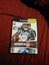Nintendo GameCube Madden 08 in Wilmington, North Carolina