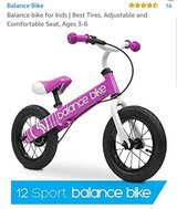 New balance bike in Fort Leonard Wood, Missouri