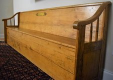Church Pew in Fort Bragg, North Carolina