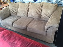 Beige couch in Fort Riley, Kansas