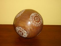 """4"""" wood ball in Chicago, Illinois"""