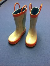 Toddler Size 9 Rain Boots in Naperville, Illinois