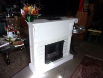 Fake Fireplace/TV Stand in Fort Riley, Kansas