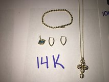 14K GOLD JEWELRY in Plainfield, Illinois