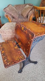 Antique School Desk - Handpainted in Sandwich, Illinois