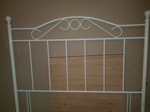White Metal headboard in Lakenheath, UK
