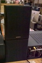 Onkyo set of 6 bookshelf speakers & other home stereo equipment in Tacoma, Washington