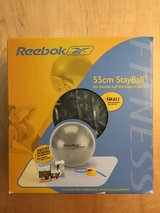 REEBOK 55cm Exercise Fitness Ball - New in St. Charles, Illinois