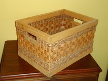 wood/wicker box in Naperville, Illinois
